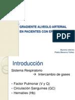 Gradiente Alveolo Arterial