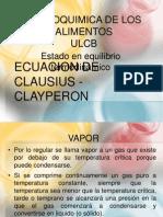 ECUACION DE CLAUSIUS - CLAYPERON.pptx