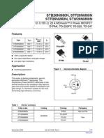 STB26NM60N