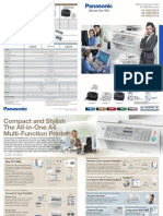 The All-In-One A4 Multi-Function Printer Panasonic KX-MB 2025 CX