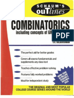 Schaum's Outlines - Combinatorics