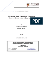 7 - ATLSS-08-05 - Horizontal Shear Capacity of Composite Concrete Beams Without Interface Ties