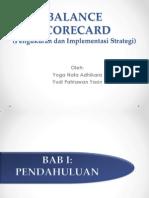 Balance Scorecard pengukuran dan implementasi