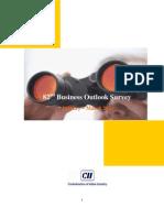 CII's - Business Outlook Survey