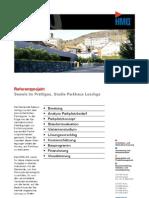 Seewis im Prättigau GR, Studie Parkhaus Leschga der HMQ AG