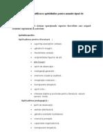 Identificarea Aptitidinilor Pentru Anumite Tipuri de Activitati
