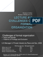 Challenges of Formal Org 19