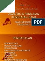 Analisis Penilaian Kesehatan Bank