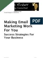 Simon Rickett - The Power of Email Marketing
