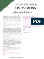 Daemon FAQ 2013