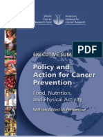 WCRF Policy US Summary final 2010