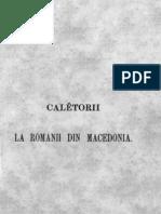 Căletorii la Romănii din Macedonia și Muntele Atos sau Santa-Agora _Dimitrie Bolintineanu
