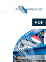 Business Advocacy Fund Annual report 2012