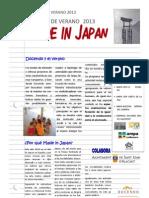 INFORMACIÓN ESCUELA  VERANO 2013 SANT JOAN D'ALACANT