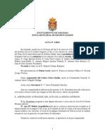 Acta Junta Municipal Distrito Zaidín enero 2013