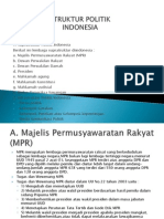Struktur Politik Indonesia