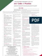 Code of Practice in Journalism UK
