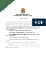 Acta Junta Municipal Distrito Zaidín febrero 2013
