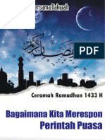 Ceramah Ramadhan 2012