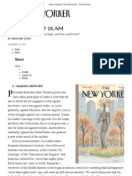 The Revolt of Islam _BERNARD LEWIS from The New Yorker