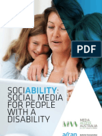 2012 Hollier. Access Report on Social Media. Australia