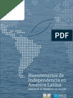 Bicentenarios de Independencia en a.latina