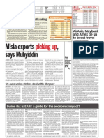 thesun 2009-04-28 page16 msia exports picking up says muhyiddin
