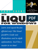 Avid Liquid Pro 7 Visual Pro Guide