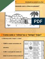 Estudo Do Clima
