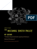 Ghana's National Youth Policy RePRESENTED