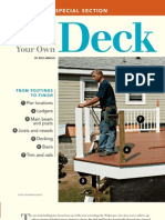 A Complete Guide to Building Your Own Deck