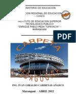 Carpeta Pedagogica Ivan_2013