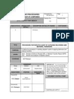 Dispatch Checking Procedure SCP v5