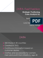 ZARA SPO Case Study - Betty, Tamara, Lena and Lora