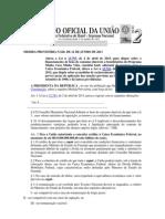 MEDIDA PROVISÓRIA N 620 FINACIAMENTO BENS DE CONSUMO BENEFICIÁRIOS MINHA CASA MINHA VIDA