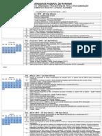Calendario Universitario 2013