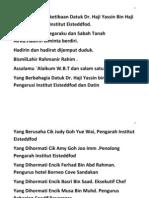 Teks Pengacara Majlis Graduasi Pelajar Asas 2013