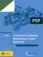 LA INSERCIÓN DE LOS ADOLESCENTES LATINOAMERICANOS EN ESPAÑA