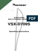 Pioneer Vsx d709s