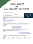 FORMATEO DE PÁRRAFOS