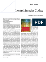 Archimedes Codex Book Review