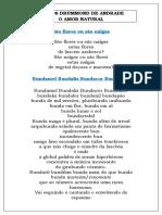 O Amor Natural, Carlos Drummond de Andrade