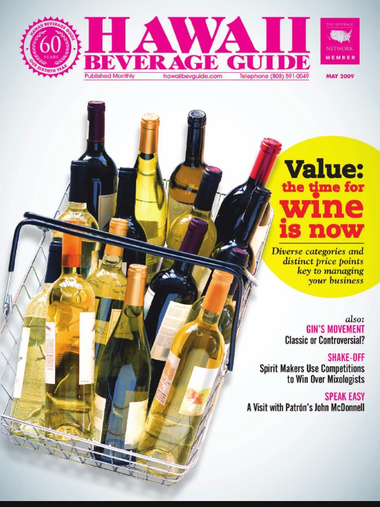 May 09 Hawaii Beverage Guide | Alcoholic Drinks | Beverages