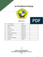 Laporan Praktikum Fisiologi Spirometer A3