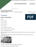 Desarmado y Armado Transmicion 16H