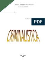 NOTE CURS Criminalistica, 2013