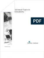 Staad Pro Advanced Topic