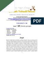 Parashat Juqát # 39 Adul 6013