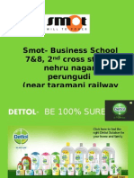DETTOL-smot business school,chennai