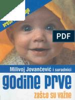 M.jovancevic - Godine Prve, Zasto Su Vazne